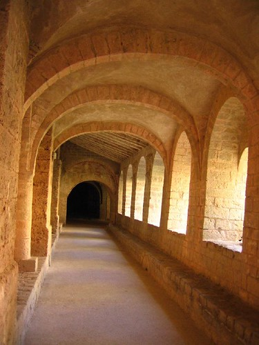 Cloister of St Guilhem le Desert's Abbey