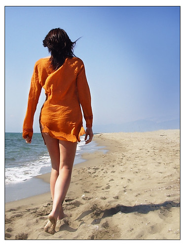 Passeggiata sul mare - Walking on the beach