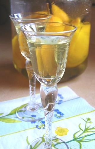 Sweet Preserved Lemons in Vokda with Vanilla