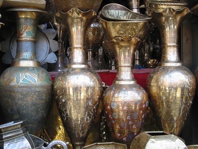 Header of brassware