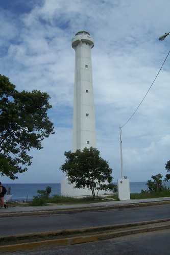 Mexico - Leuchtturm auf Cozumel