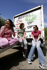 three women on a moving truck    MG 4236