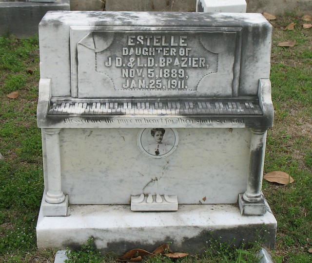 Piano Tombstone