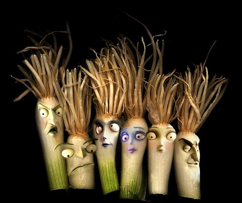 tim burton's onion faces
