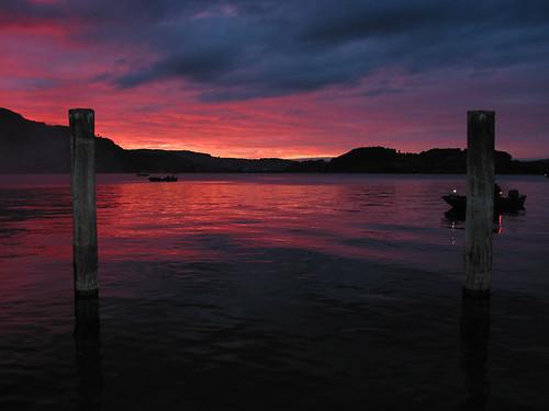 sunset lake water geotagged see luzern pilatus lucerne vierwaldstättersee spseeingthelight