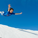 White Sands Flying Leap by Marc Shandro
