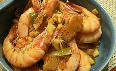 shrimp, seafood boil, dendrobranchiata, caridean shrimp, thai food, seafood, invertebrate, produce, food, scampi, dish, cuisine,