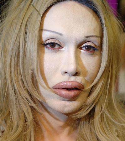 Pete Burns looks like a sex doll. Listen to the Feast of Fools podcast: ...