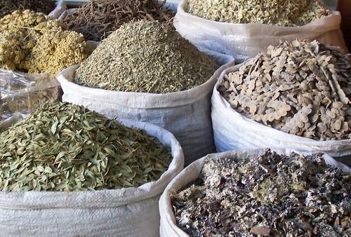 Bulk herbs, Dubai Spice Souk