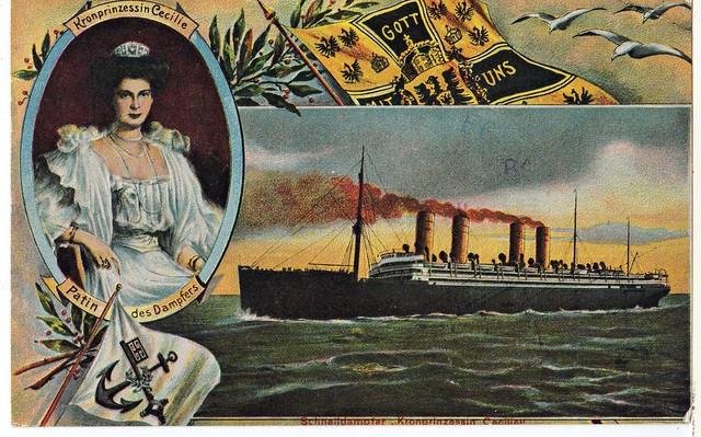 Postcard - Ship