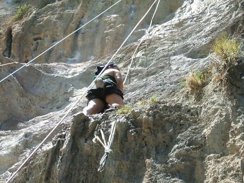 thailand, railay, rock climbing, i-wei DSCF0370