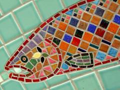 Salmon (mosaic) 1129.1
