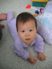 child, infant, crawling, skin, play, person, pink, toddler, organ,