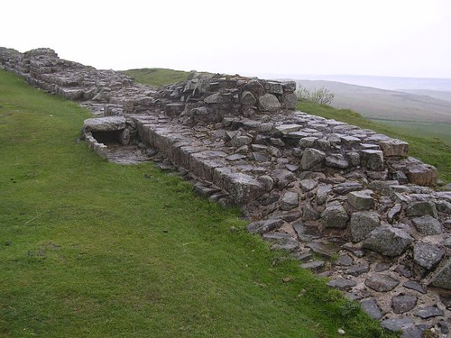 The curtain wall and cist