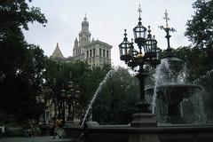 NYC: Nathan Hale City Hall Park