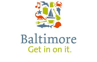"Baltimore ""Get in on it."" brand identity campaign"