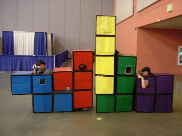 Tetris cosplay at Fanime!, Fujifilm FinePix A310