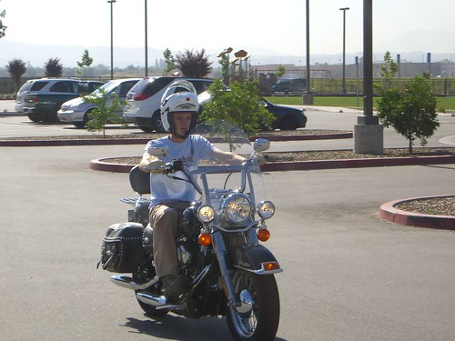 My first Harley ride