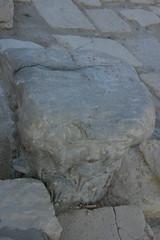 boulder, limestone, flagstone, geology, bedrock, rock,