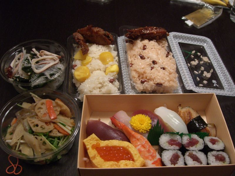 Takeaway Dinner from Takashimaya Times Square Shinjuku