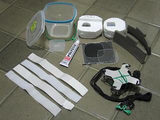 Materials for waterproof KAP rig