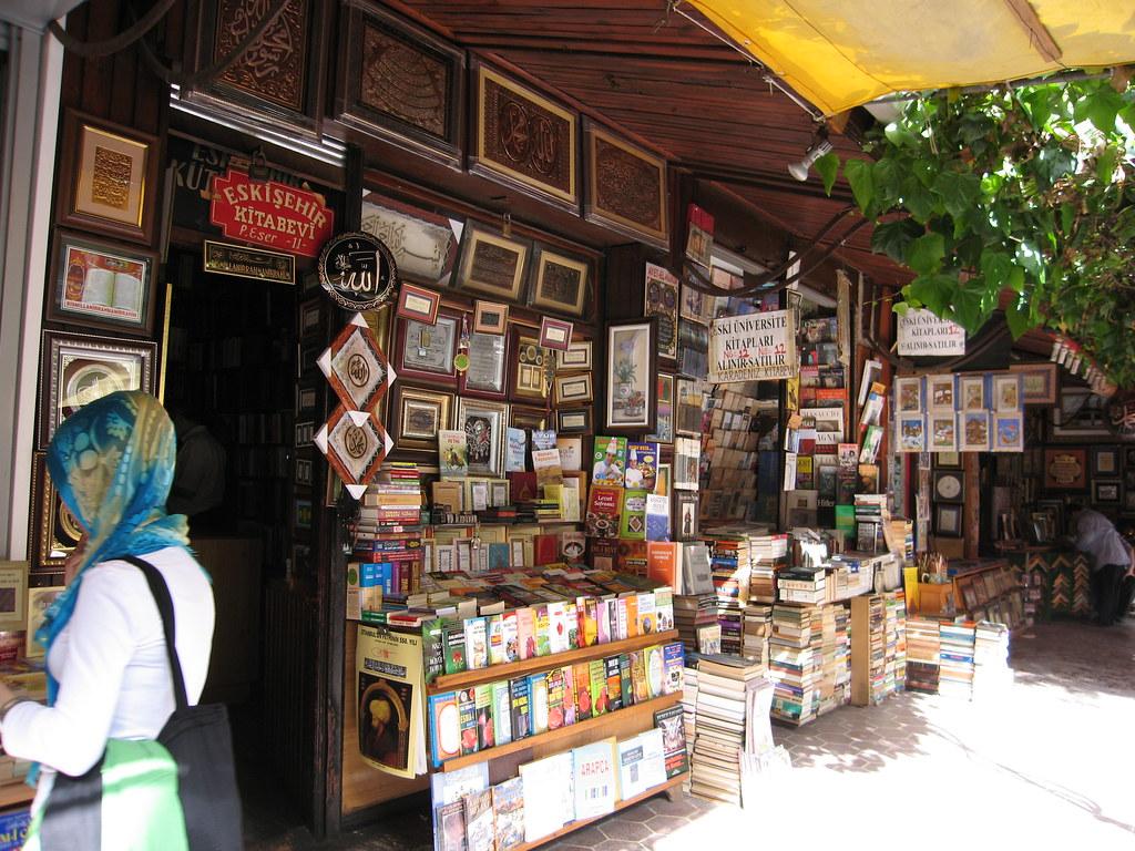 Sahaflar Carsisi, book market