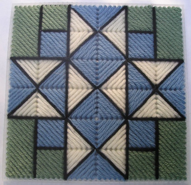 Quilt Block Pattern Four Corners (Q...