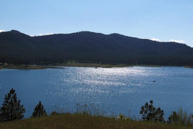 Lake pactola at dusk flickr photo sharing for Pactola lake cabins