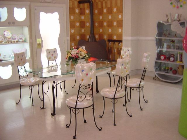 Image Gallery hello kitty dining room