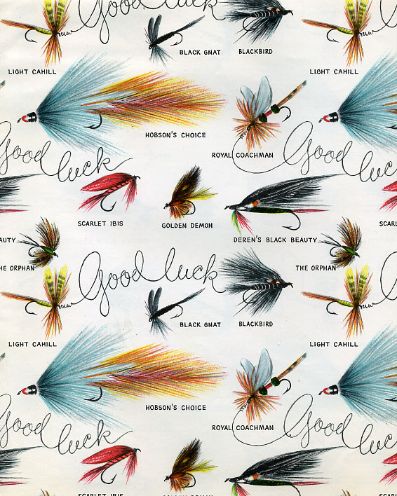 Fly fishing good luck gift wrap a photo on flickriver for Fly fishing gifts