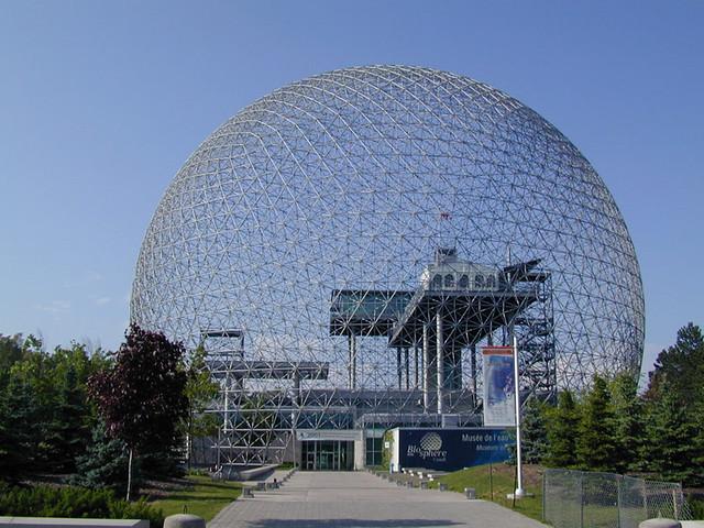 La biosphère de Montréal (Canada)