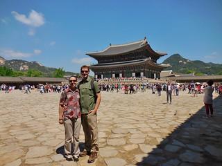 Beautiful Day at Gyeongbokgung Palace
