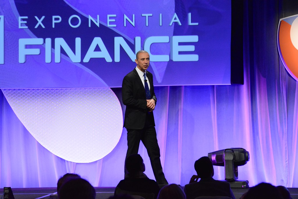"Exponential ""What Ifs"" Daniel Nadler, CEO, Kensho; Bob Pisani, Editor CNBC ""On-Air-Stocks""..Exponential Finance 2015 hosted by Singularity University"