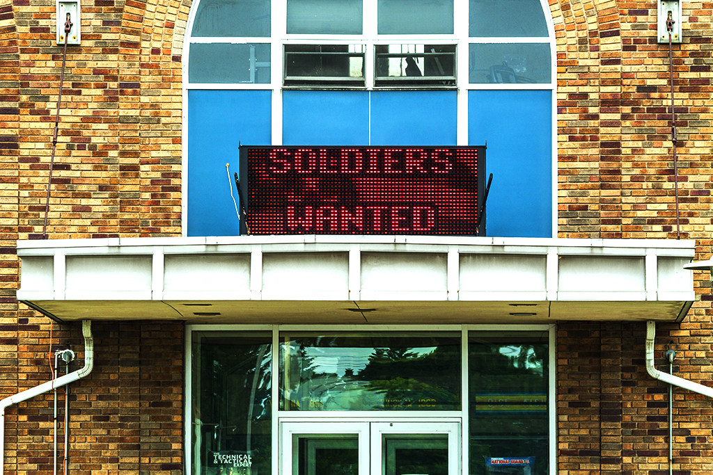 SOLDIERS WANTED--Wilkes Barre