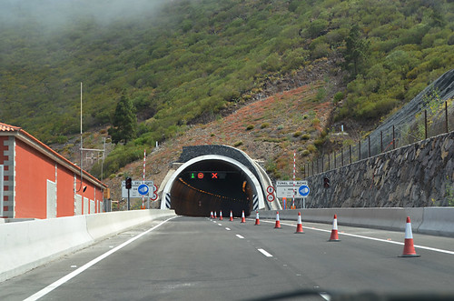 Crossing from south west to north west, Anillo Insular, Tenerife