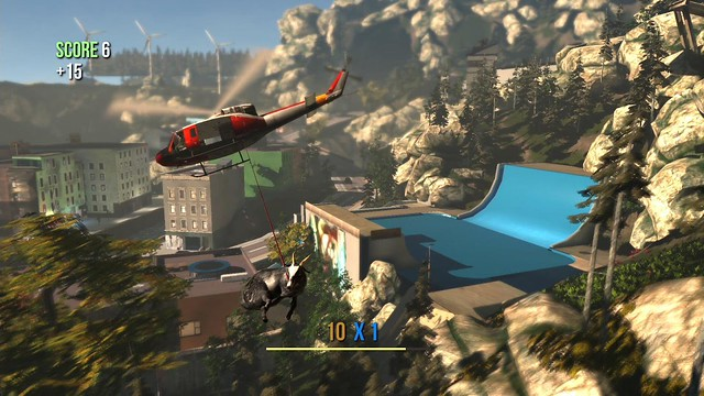how to get a hang glider in goat simulator