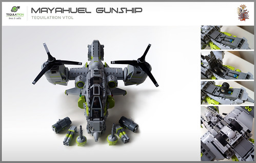 Mayahuel Gunship - DA2 - Loadout & retractable landing gear