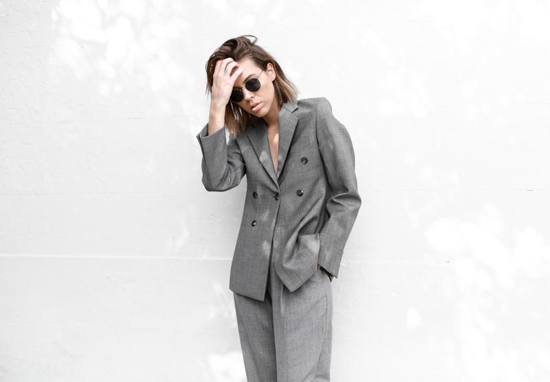 modern legacy, fashion blog, grey, street style, suit, Kym Ellery, MyChameleon, minimal, monochrome (1 of 1)