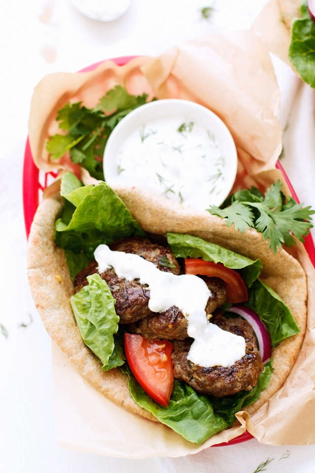 20 Minute Greek Gyros With Tzatziki Sauce Recipe Little Spice Jar