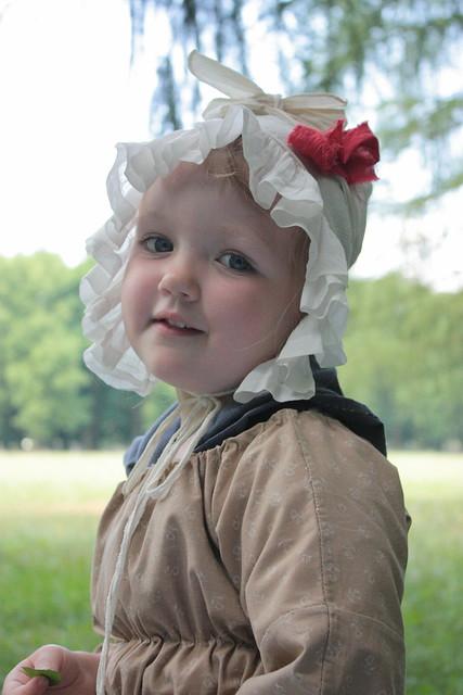 Costume rococo pour petite fille, 4 ans