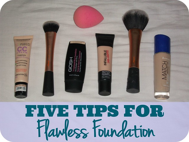 Five Tips For Flawless Foundation