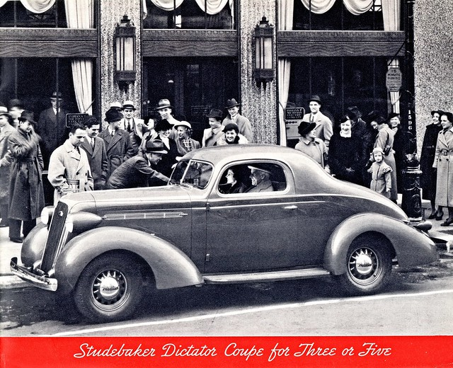 1936 Studebaker Dictator Coupe