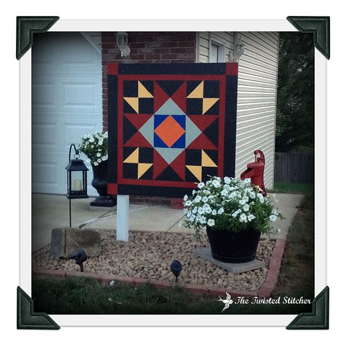 Bountiful Star Garden Quilt