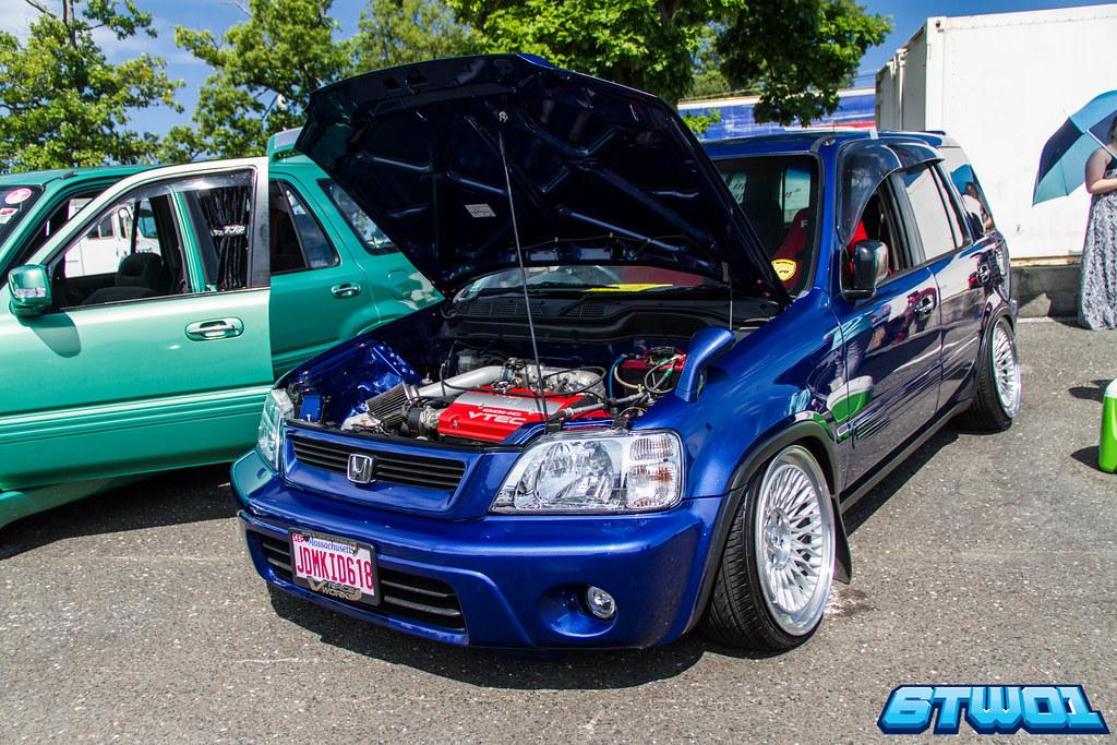 RHD Blue CRV