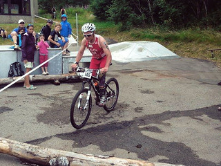 Martin Falch at 2015 Schluchsee ETU TNatura Cross Triathlon European Championships in Germany.