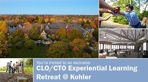 2015 CLO/CTO Experiential Learning Leadership Retreat @ Kohler