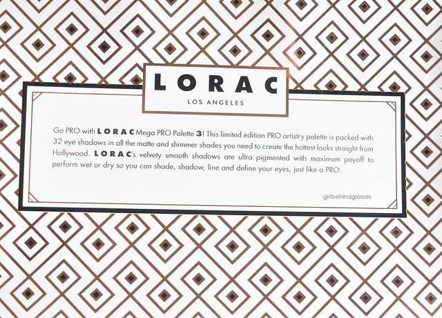 Lorac Mega Pro 3 Palette3