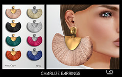 LaGyo_Charlize Earrings for Fameshed