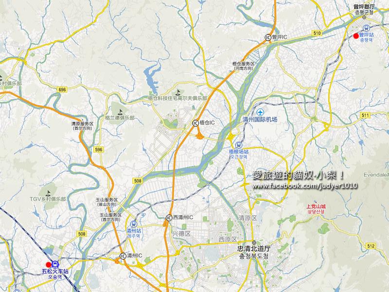曾坪地圖 -1