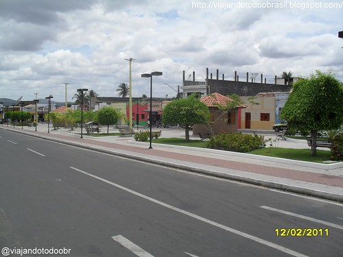 Girau do Ponciano - Praça Luiz Cavalcanti